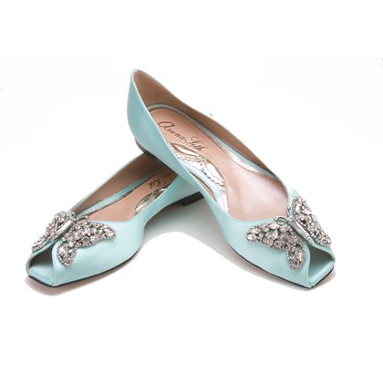 Liana Tiffany Blue Satin